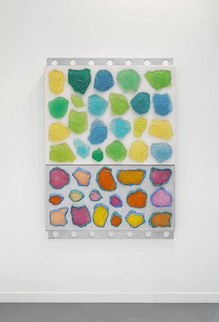 , 'Wall-Wall No. 18 (Clear/Silver),' 2015, Lehmann Maupin
