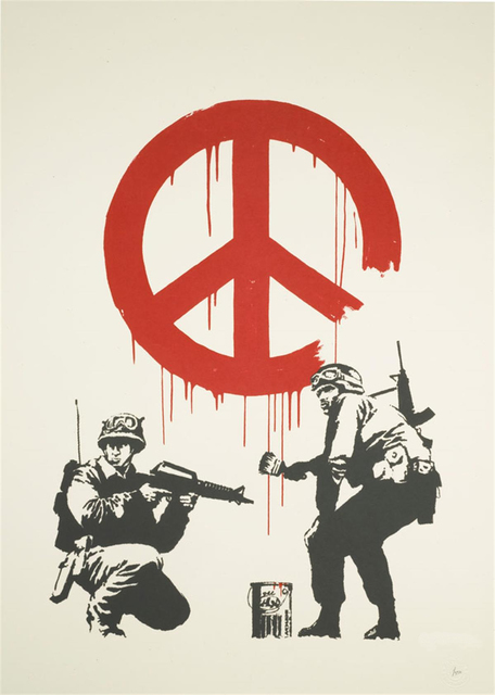 , 'CND Soldiers,' 2005, Graffik Gallery / Banksy Editions