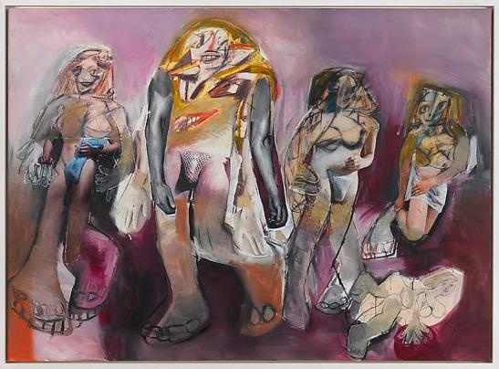 "RICHARD PRINCE ""de Kooning"", 2008"