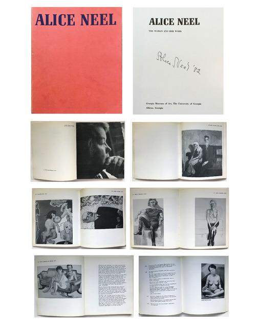 "Alice Neel, '""ALICE NEEL"", 1975/1982, Signed/Dated, Georgia Museum of Art Exhibition Catalogue', 1975/1982, VINCE fine arts/ephemera"