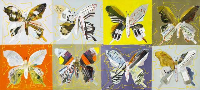 , 'Butterflies ,' 2013, Blue Gallery
