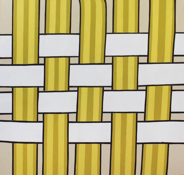 , 'Lawn Chair (Yellow),' 2017, Galleri Urbane