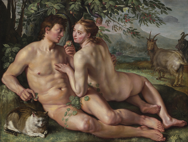 Hendrik Goltzius, 'The Fall of Man', 1616, National Gallery of Art, Washington, D.C.