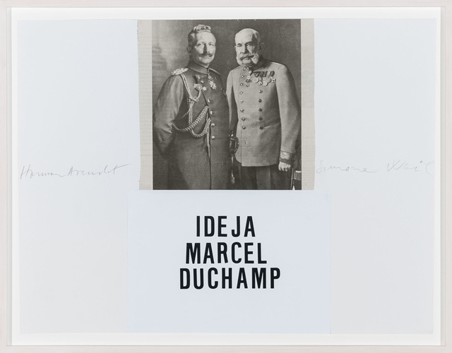 , 'Idea M. Duchamp 2.,' 2014, Aanant & Zoo