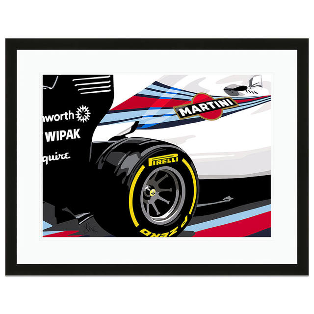, 'Speed Icons Williams Grand Prix FW36 F1 Car | Automotive ,' 2018, Whyte Fine Art