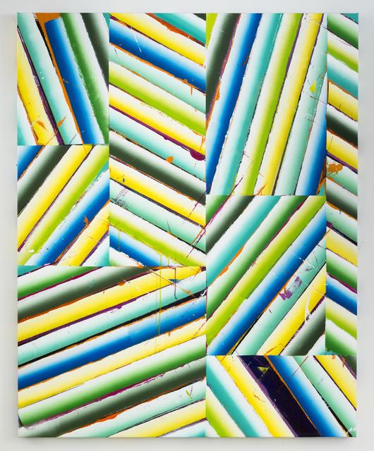 , 'Sheetrock Slip/Strike (GBY),' 2015, Barry Whistler Gallery