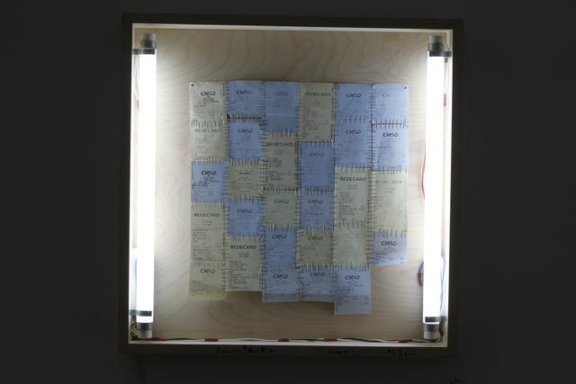, 'Sumidouro: R$ 1.622,25,' 2012, Baró Galeria