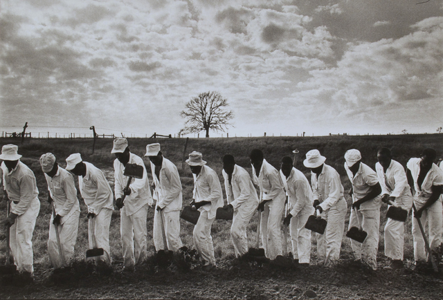 , 'The Line, Ferguson Prison, Texas,' 1968, David Lusk Gallery