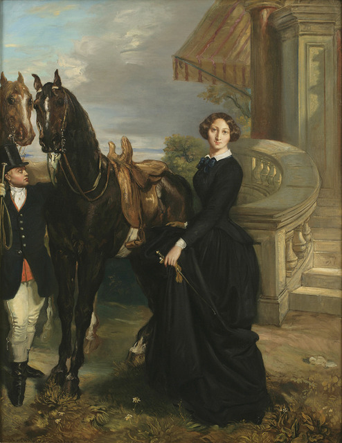 , 'Portrait of Comtesse do Ranchicourt Leaving for the Hunt,' 1854, Jack Kilgore & Co.