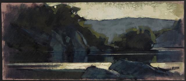 , 'Angler's Dusk,' 2009, Susan Calloway Fine Arts
