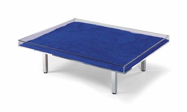 Yves Klein, 'Table Monochrome Bleu', 2019, Galerie Diane de Polignac & Chazournes