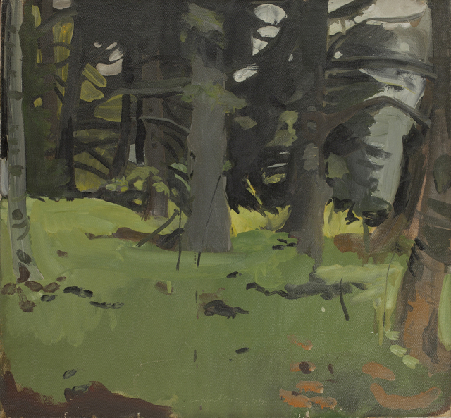 , 'Spruce and Birch,' 1964, Tibor de Nagy