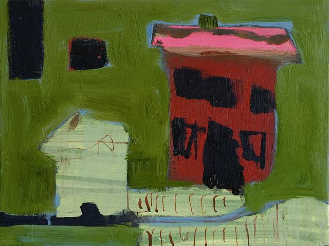Jennifer Hornyak, 'Maison avec toit rose', 2019, Galerie de Bellefeuille