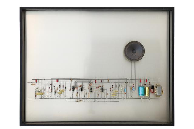 , 'Schneller Werdende in Sich Verschiebend Tonfolgen,' 1981, MAAB Gallery
