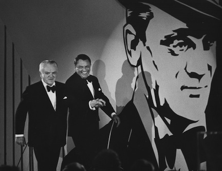 , 'James Cagney and Frank Sinatra, Los Angeles,' 1974, Staley-Wise Gallery