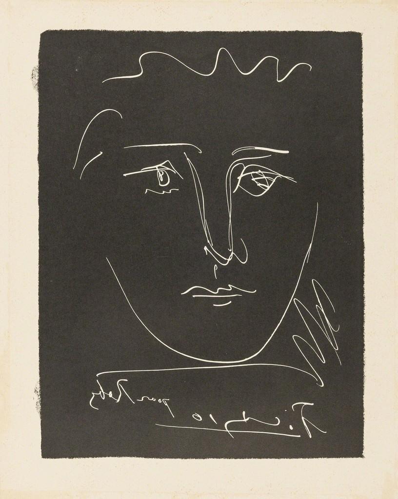 Pablo Picasso   Pour Roby, from L\'age de Soleil (1950)   Artsy