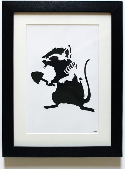 Banksy, 'Rat Stencil', 2002, EHC Fine Art: Essential Editions VIII