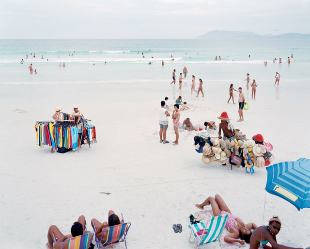 "Massimo Vitali, '24 Cabo Frio V, ""from ""A Portfolio of Landscapes With Figures""', 2006, IFAC Arts"