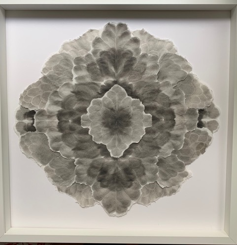 Allison Svoboda, 'Mandala Flora 1', 2010-2015, Drawing, Collage or other Work on Paper, Sumi-e ink on Mulberry paper, Olson Larsen Gallery