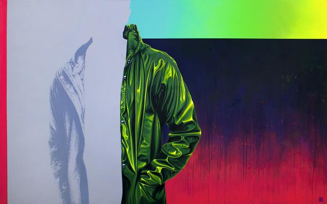 , 'Raincoat Green II,' 2018, Artspace Warehouse