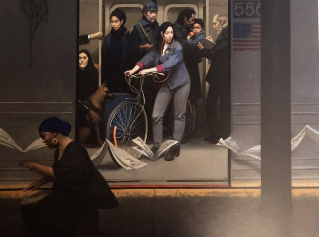 , 'Underground Drum Beat,' 2014, Gerald Peters Gallery