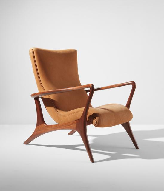 Vladimir Kagan, 'Contour lounge chair, model no. 175 E', designed 1953-executed circa 2003, Phillips