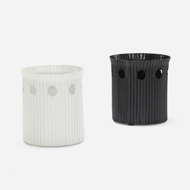Mathieu Matégot, 'Java wastepaper baskets, pair', 1954, Wright