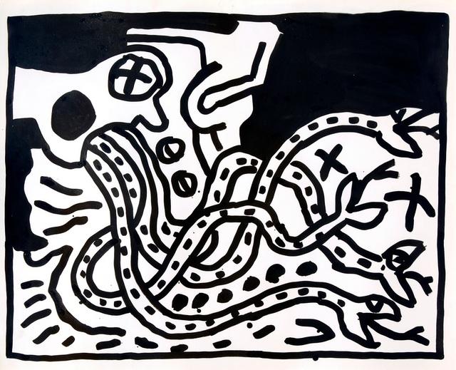 Keith Haring, 'UNTITLED', 1983, Galleria Alfieri