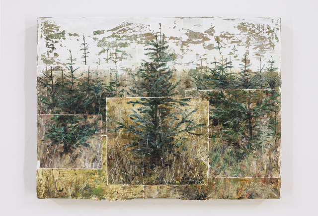 , 'Three rows of trees,' 2019, Galerie Bart