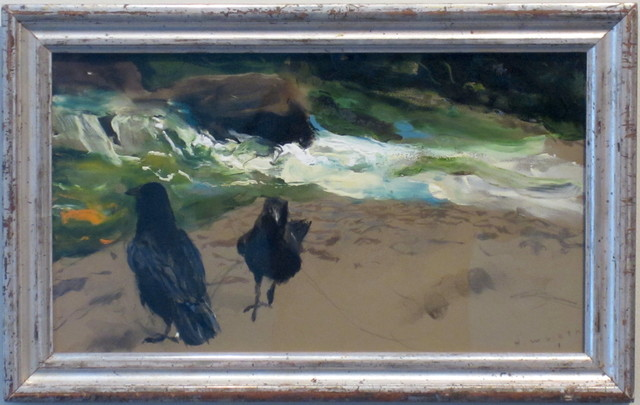 , 'Raven Pair, Brandywine,' 2010, Adelson Galleries