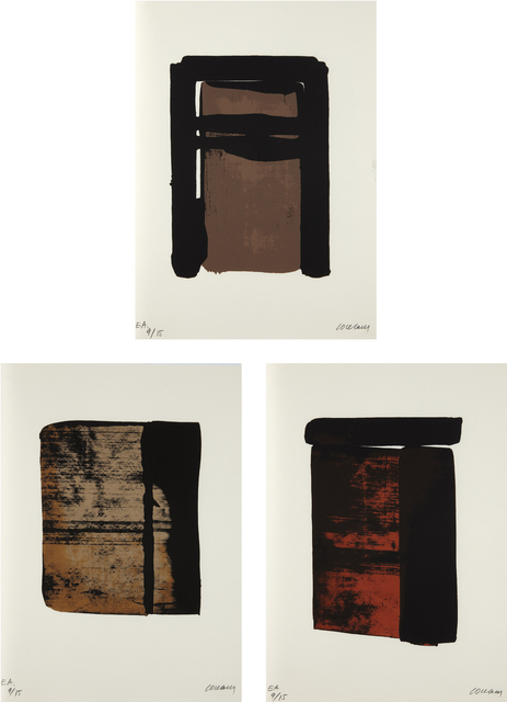 Pierre Soulages, 'Sur le mur d'en face (On the Opposite Wall)', 1979, Phillips
