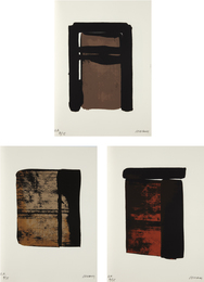 Pierre Soulages, 'Sur le mur d'en face (On the Opposite Wall),' 1979, Phillips: Evening and Day Editions (October 2016)