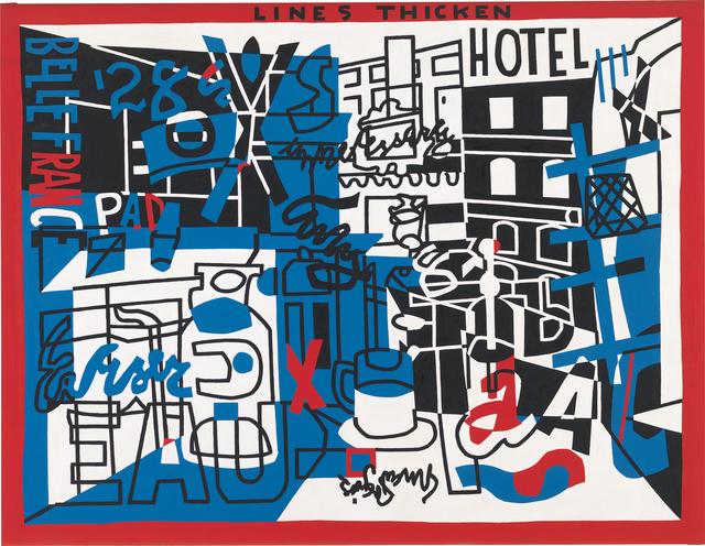 , 'The Paris Bit,' 1959, Whitney Museum of American Art