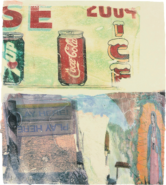 Robert Rauschenberg, 'L.A. Uncovered #3', 1988, Phillips
