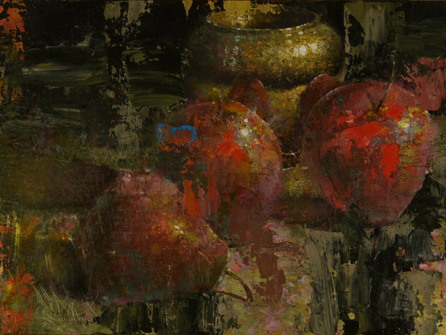 , 'Two Apples and One Pear,' 2015, Gallery 1261