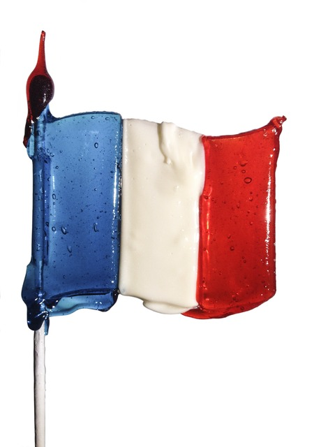 , 'LOLLIPOP French flag,' 2013, Visionairs Gallery