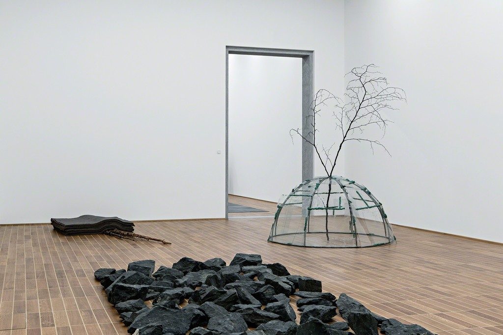 "Installation view of ""Sculpture on the Move 1946–2016"" at the Kunstmuseum Basel"
