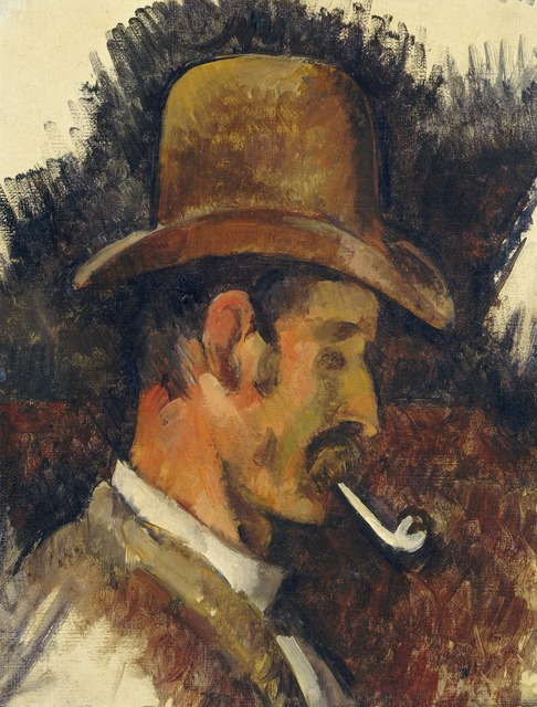 Paul Cézanne, 'Man with Pipe', 1892/1896, National Gallery of Art, Washington, D.C.