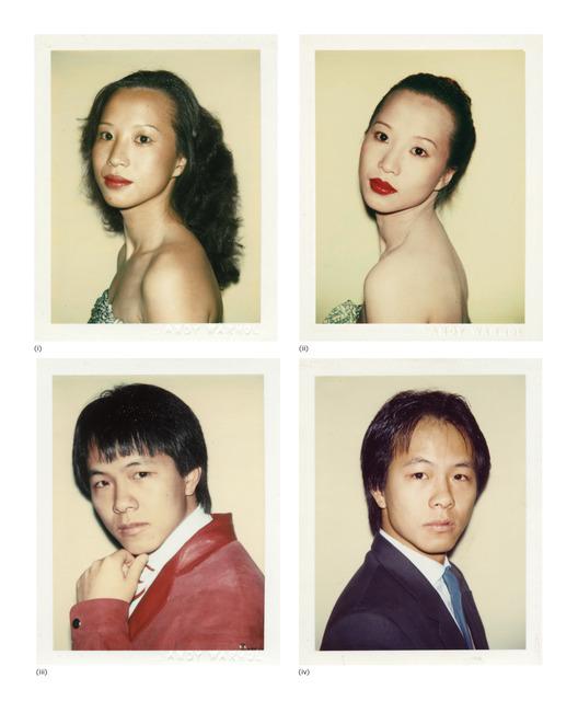 Andy Warhol, 'Four works: (i) Julianna Siu; (ii) Julianna Siu; (iii) Alfred Siu; (iv) Alfred Siu', circa 1982, Phillips