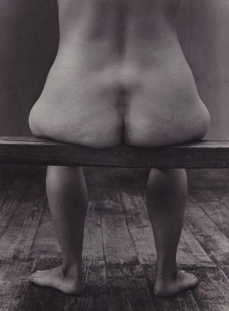 , 'Nu assis banc,' 1954, Galerie Nathalie Obadia