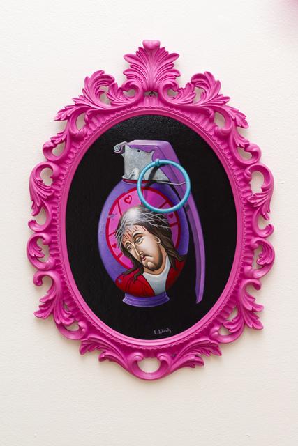 , 'Grenade #3,' 2013, Spoke Art