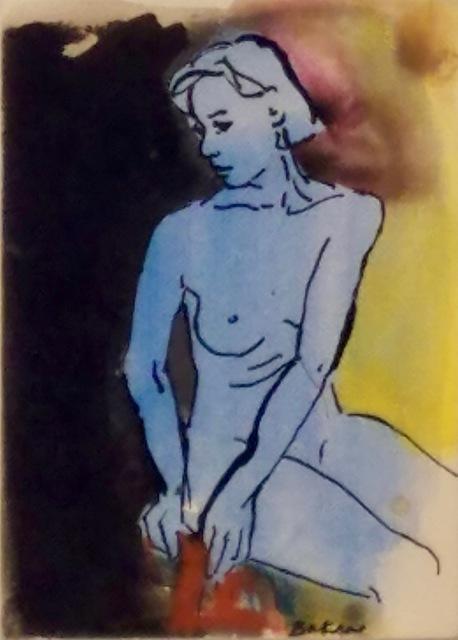 Teresa Baksa, 'Blue Nude', 1994, Miller White Fine Arts