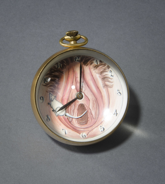 , 'Mouse Tail Ball Clock,' 1997, Hieronymus