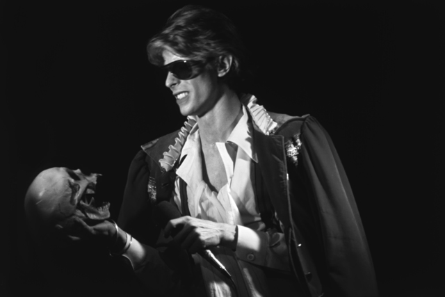 , 'David Bowie Holds a Skull ,' ca. 1970, Mouche Gallery