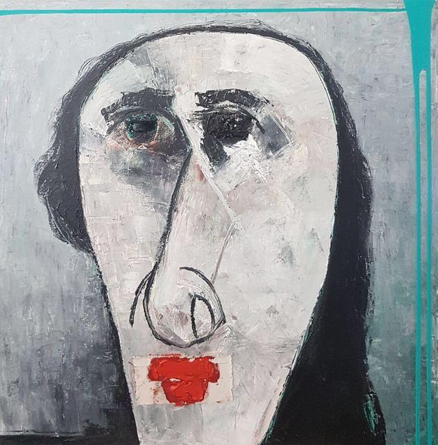 , 'Sin titulo (cabeza blanca),' 2018, Nuun Espacio de Arte