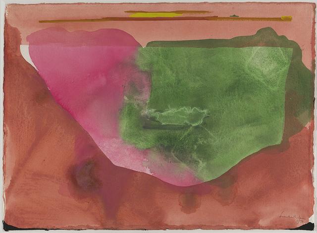 , 'Fiesta,' 1973, Helen Frankenthaler Foundation