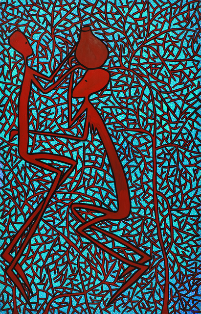, 'Kusaidia, l'entraide,' 1980, Fondation Cartier pour l'art contemporain