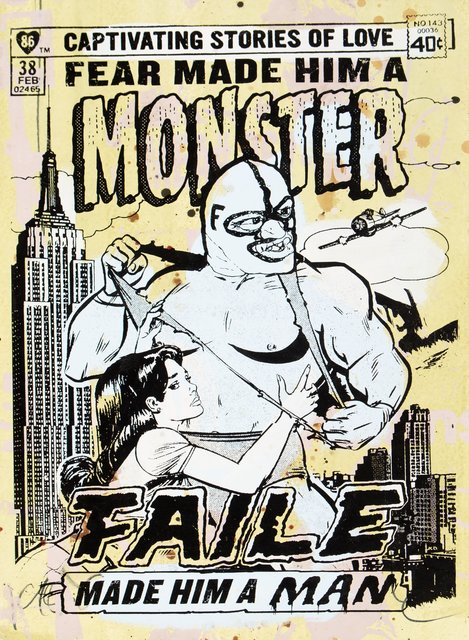 FAILE, 'Monster III', 2007, Heritage Auctions