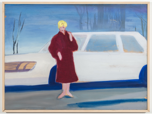 Stephen Lack, 'Kim Novak in Winter', 1982, Johannes Vogt Gallery