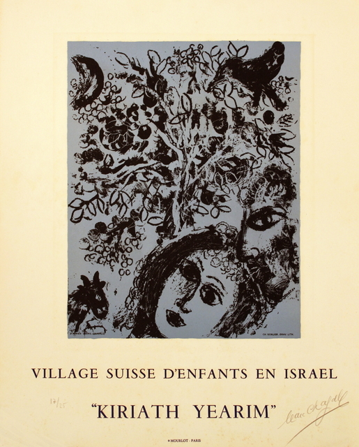 Marc Chagall, 'Couple in Front of a Tree', 1971, Print, Stone Lithograph, ArtWise